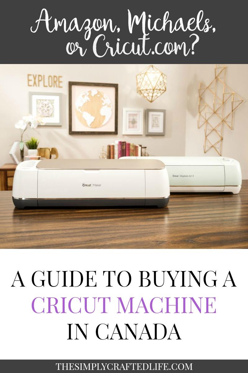 Where to Buy Cricut Maker in Canada