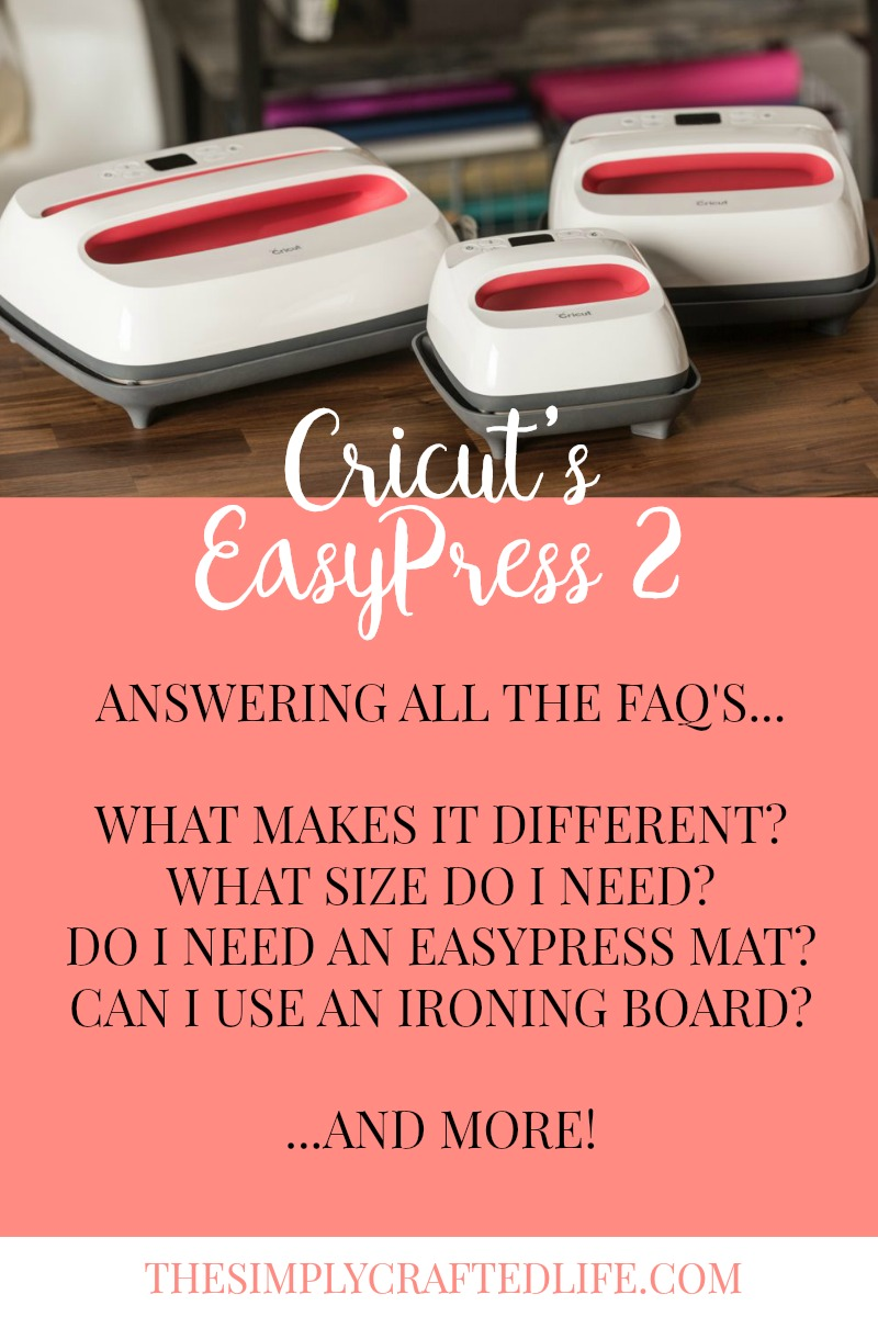 Do you have questions about the Cricut EasyPress 2 vs Heat Press vs Home Iron? This FAQ Guide will answer all of your questions!