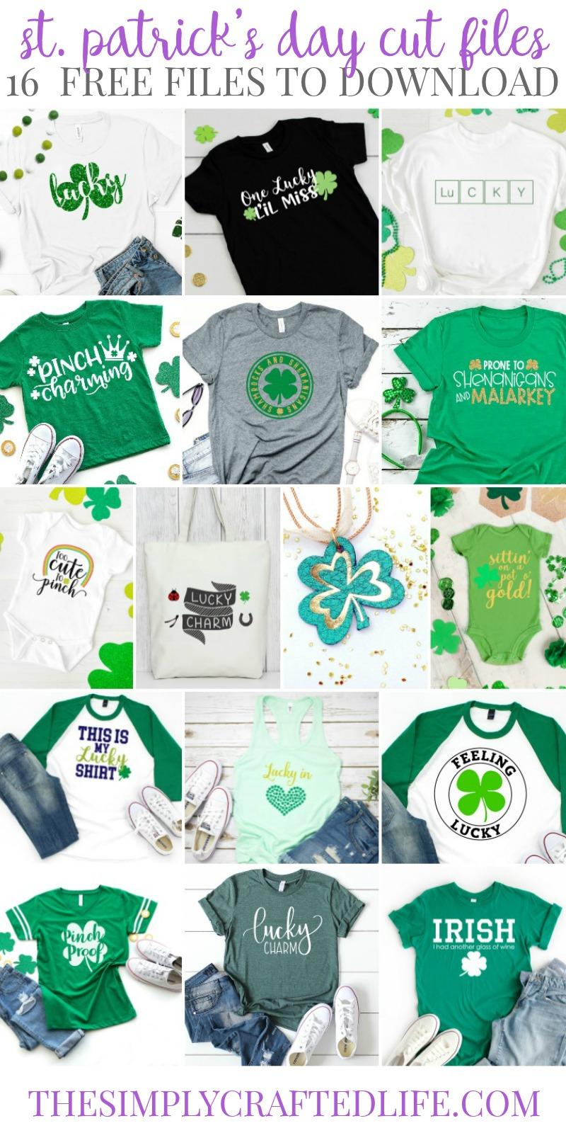 Free St. Patrick's Day SVG Files
