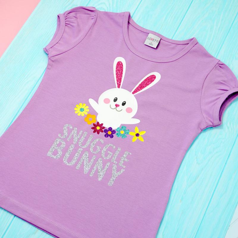 Snuggle Bunny Easter SVG