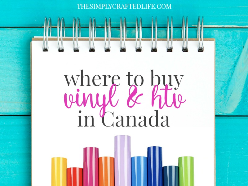 Where to buy vinyl and heat transfer vinyl in Canada
