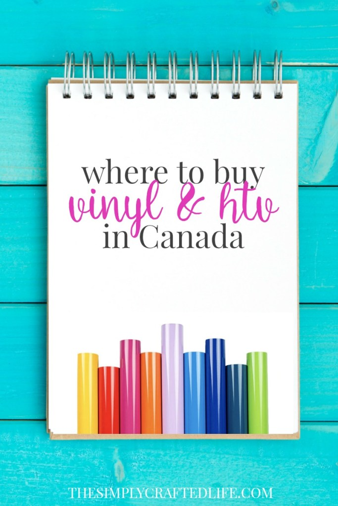 Where to buy vinyl and htv in Canada