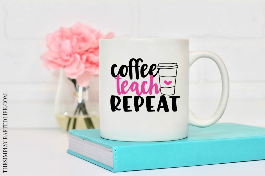 coffee teach repeat free svg