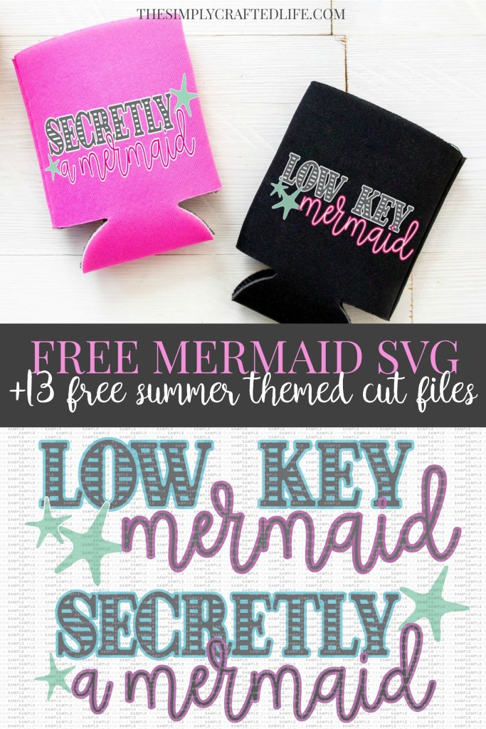 Free Mermaid SVG Cut Files