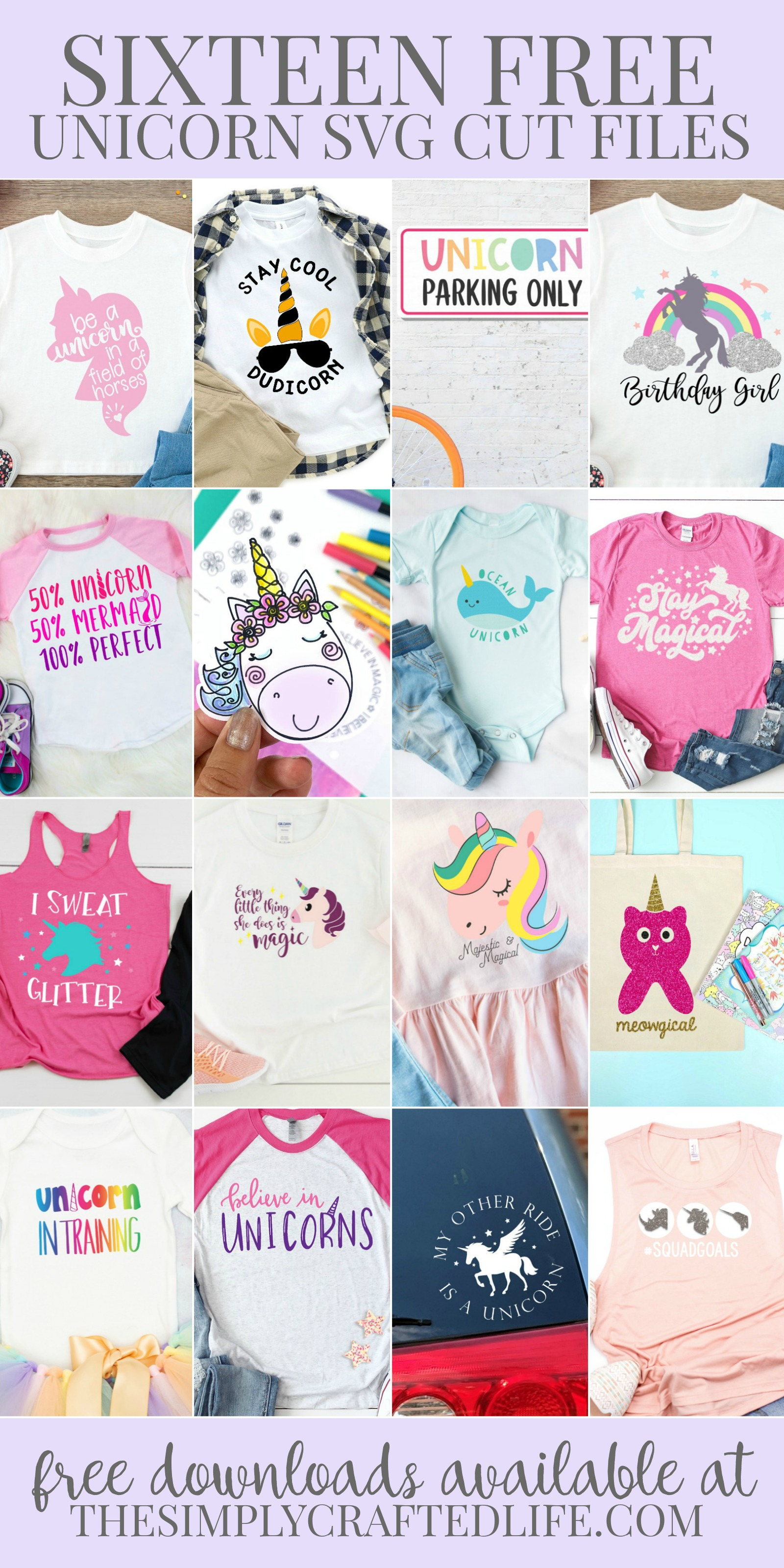 Free Unicorn Svg Cut Files The Simply Crafted Life