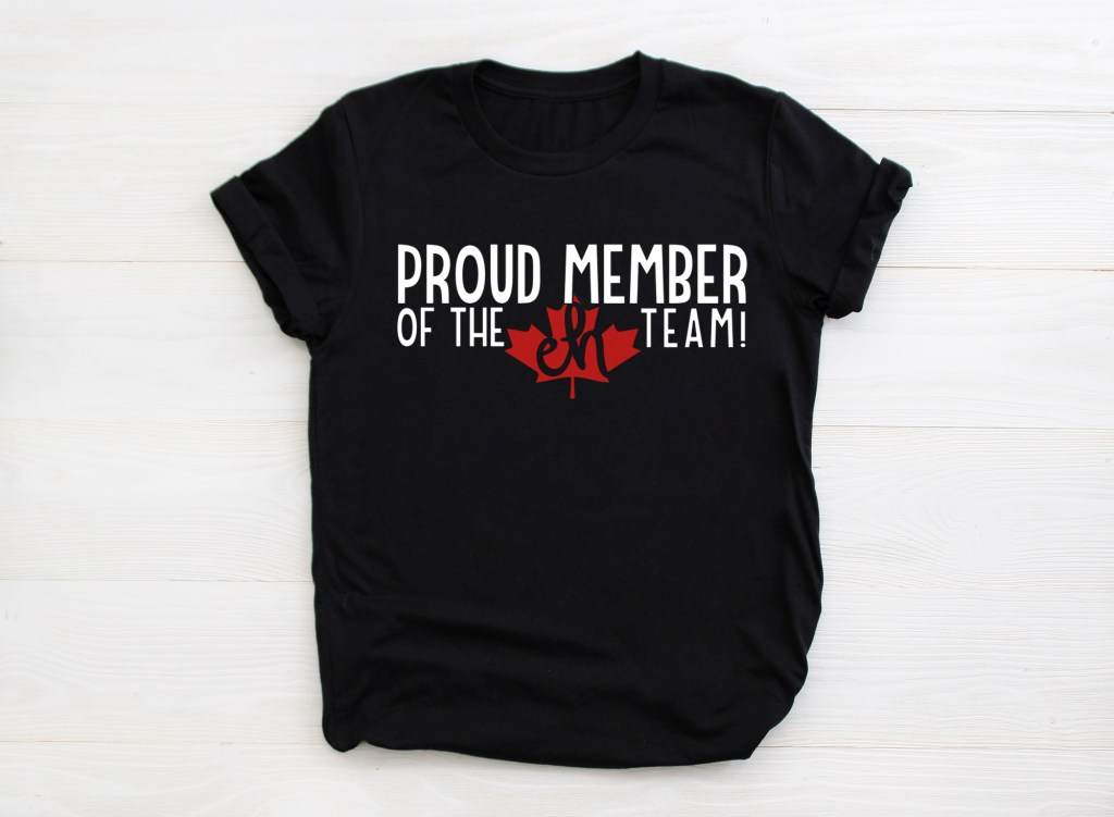 proud member of the eh team shirt