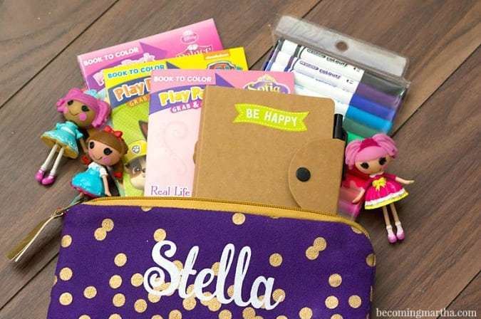 personalized busy bag