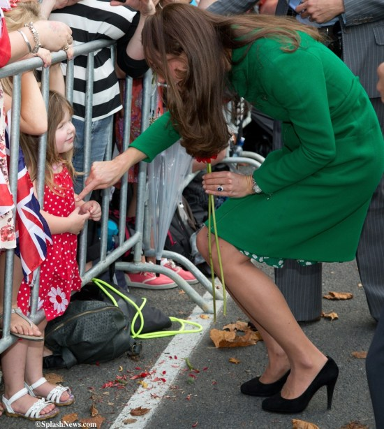 ***STRICTLY NO UK OR WEB USAGE FOR 28 DAYS***The Duke and Duchess of Cambridge visit the town of Cambridge, New Zealand