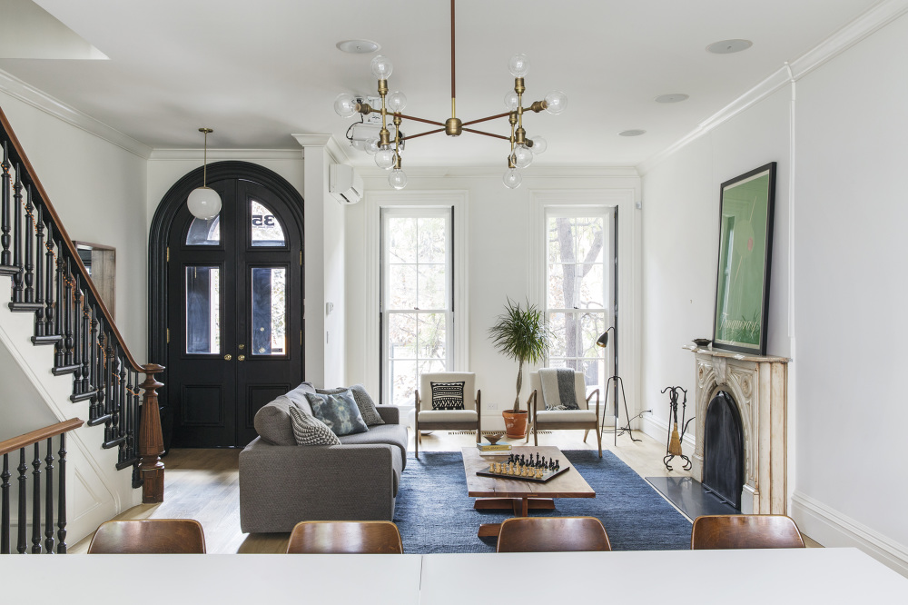 Decor Inspiration A Brooklyn Townhouse The Simply