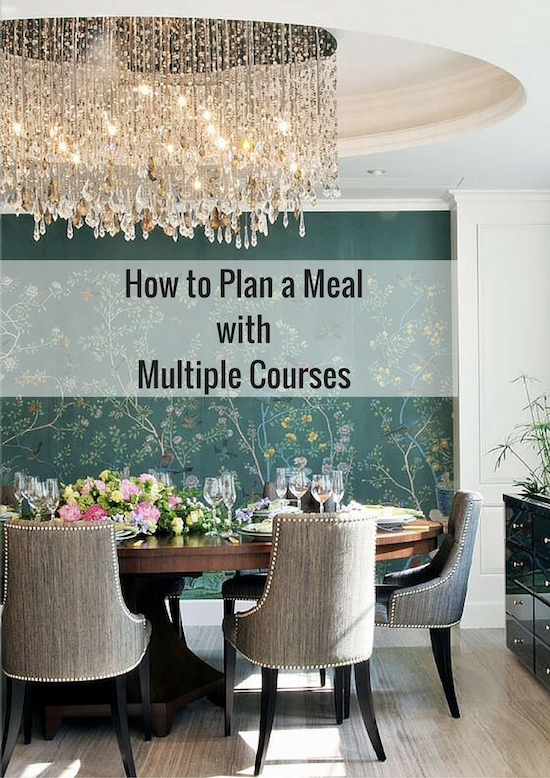 How to Plan a MealwithMultiple Courses