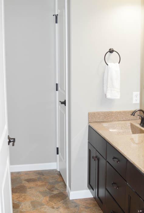 bathroom linen closet organization - the simply organized home