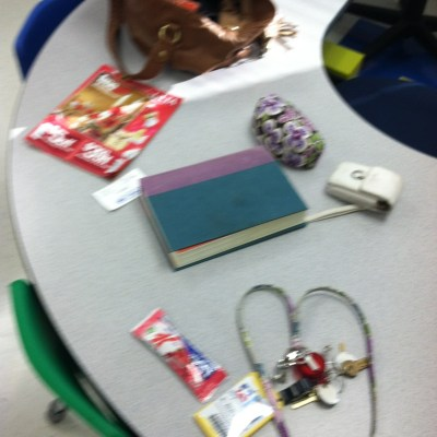 What's in Ms. Buchtien's purse?!?!? A Lesson on Inferring