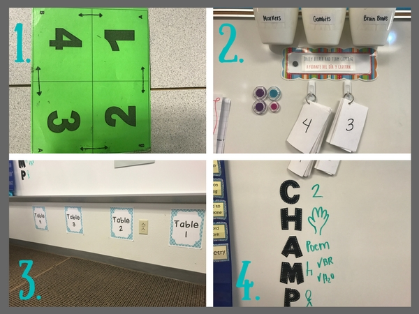 Student Routines: Here are 4 daily routines I do with my students. Click here to read more about each of these classroom management techniques