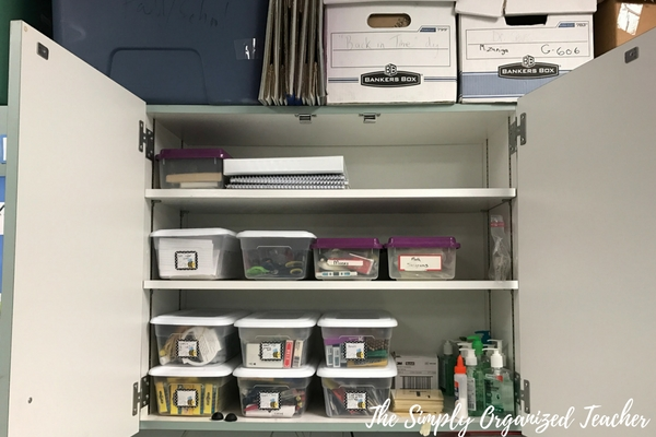 Classroom Makeover: How to clean out, organize, and arrange your classroom.