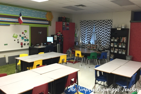 Classroom Makeover: How to declutter and organize your classroom