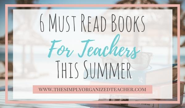 Summer Book Reads: Teacher Edition