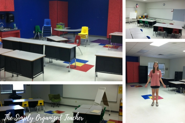 Tips on how to unpack a classroom at the start of a new year