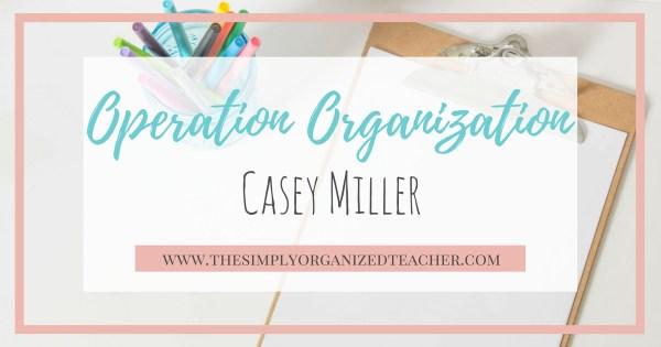 Classroom Organization Coaching