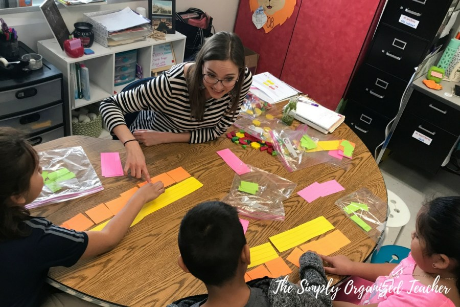 Small Group Teaching in Elementary- Organization and Activities