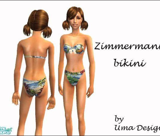 Zimmermann Bikini For Teen Girls