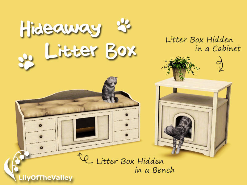Lilyofthevalley S Hideaway Litter Box