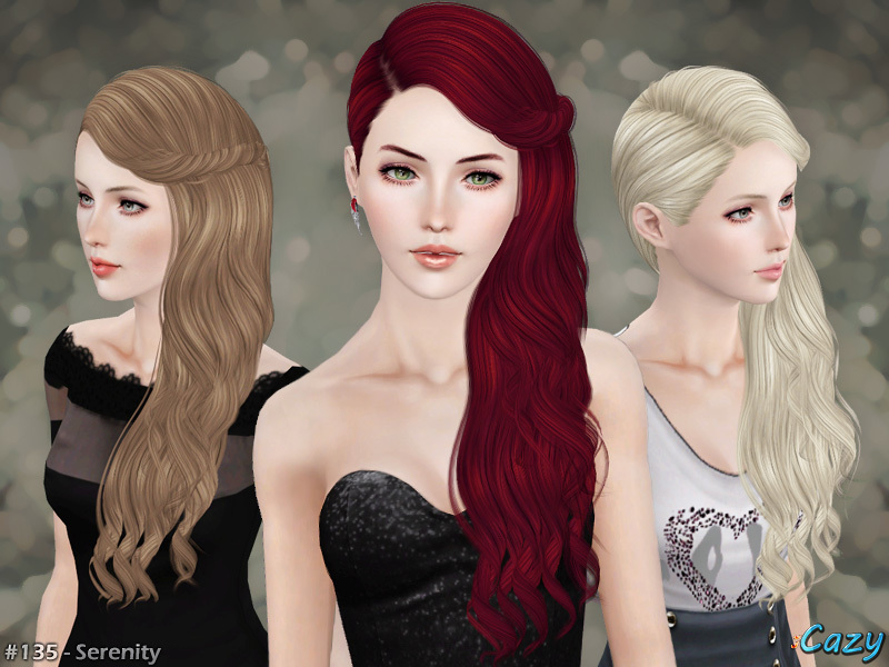Sims 3 Store Hair Curly