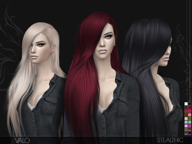 Sims 4 Cc Female Hairstyles