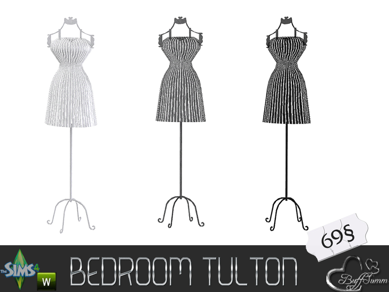 BuffSumms Tulton Bedroom Dressing Mannequin