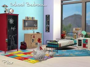 Pilars Sims 4 Kids Bedroom Sets