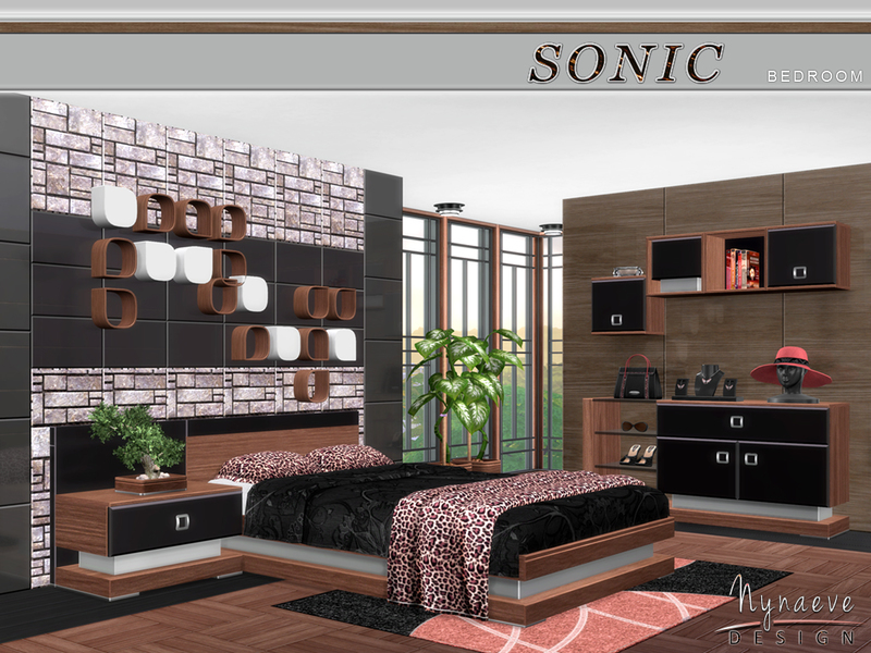 NynaeveDesigns Sonic Bedroom