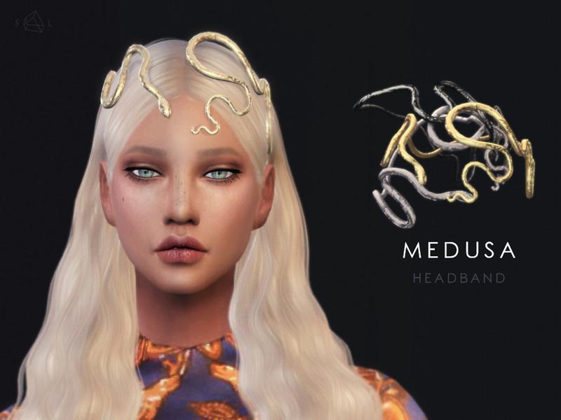 SLYDs Snake Headband MEDUSA