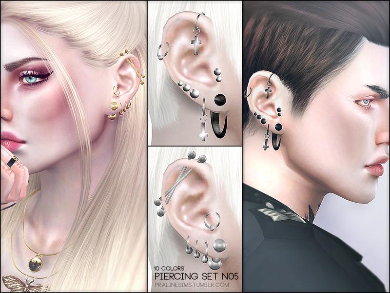 Pralinesims Piercing Set N05