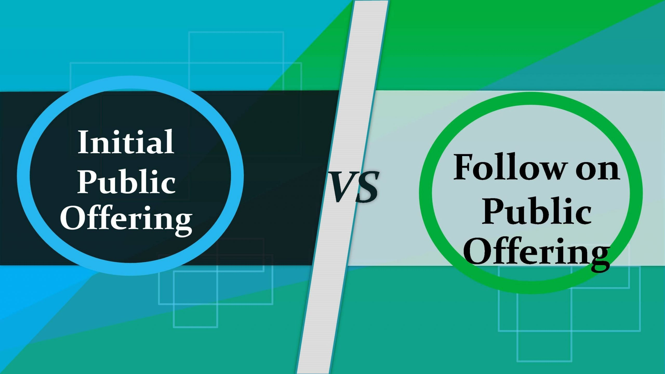 Difference between IPO and FPO