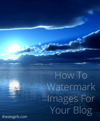 How To Watermark Images Watermarking Images For Blog