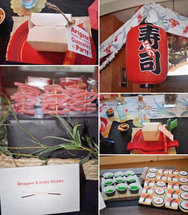 Sumo And Sushi Party Boy 39 S Birthday Idea