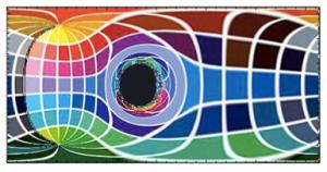 Thorne's light distortion diagram
