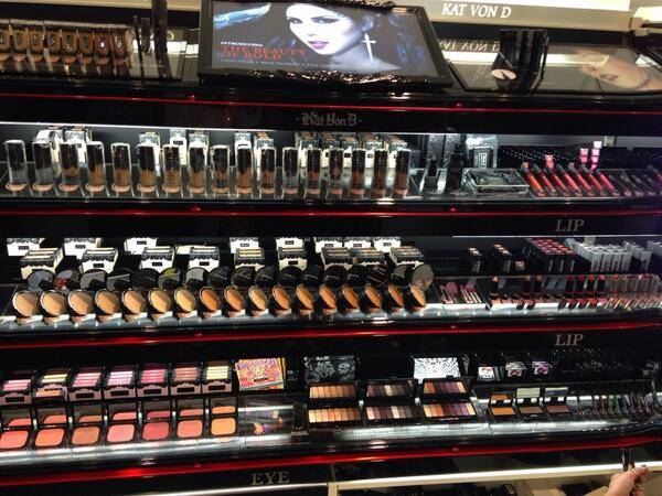 Kat Von D Beauty is Launching in The UK at Debenhams!!