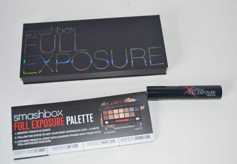 Smashbox Full Exposure Palette Review