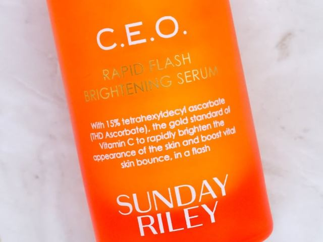 Sunday Riley CEO Rapid Flash Brightening Serum Review