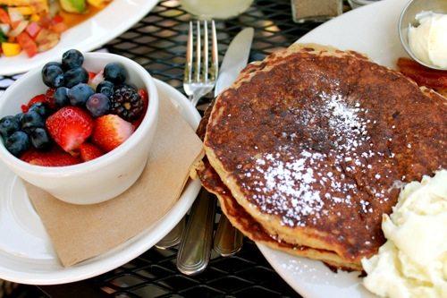 Oatmeal Multi-Grain Pancakes
