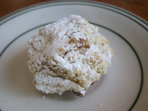 Lupes Mexican Wedding cookie 1