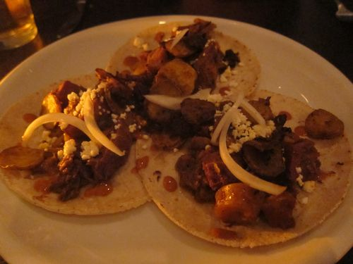 Empellon tongue tacos
