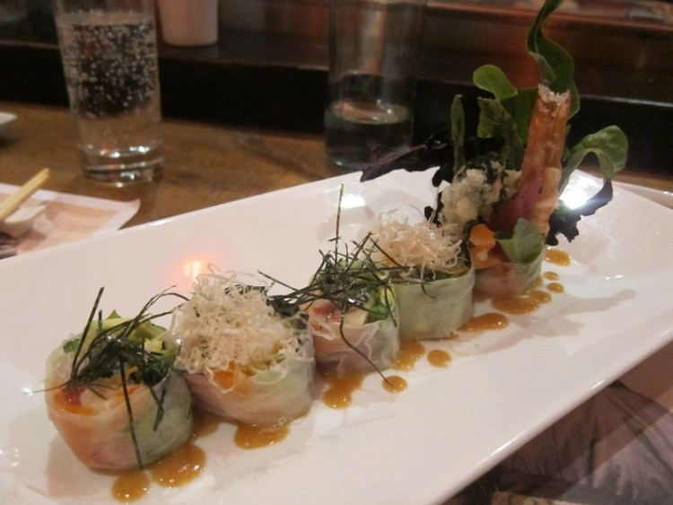 Artful Dinner at Geisha Table