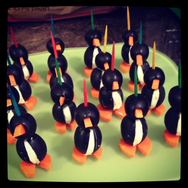 Olive Penguins and Recipe