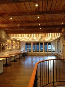 beautiful upstairs space. perfect for parties.