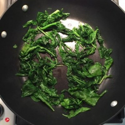 FD cooked spinach