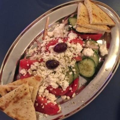Souvlaki GR salad 1