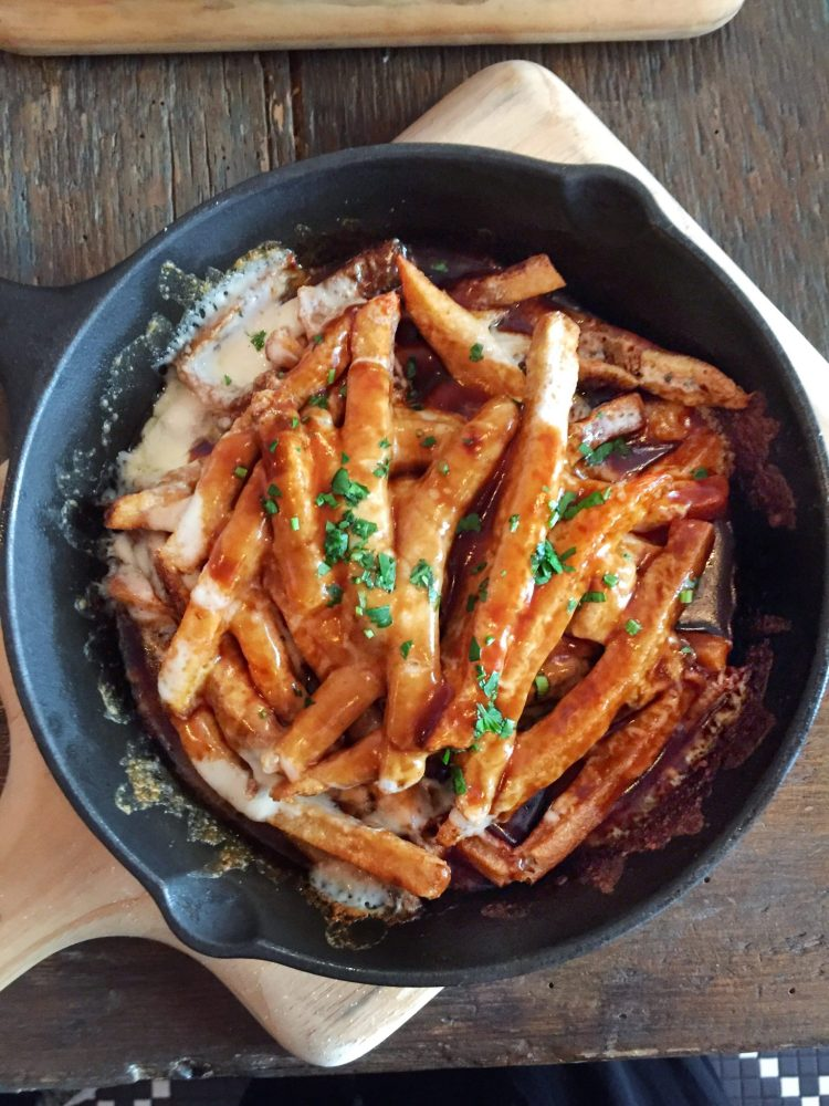 Tanners poutine aerial