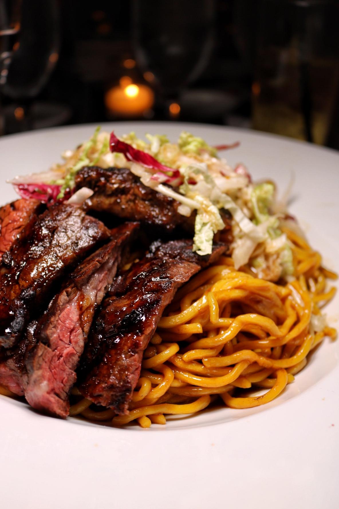 Red Lantern - Steak Teriyaki Noodles