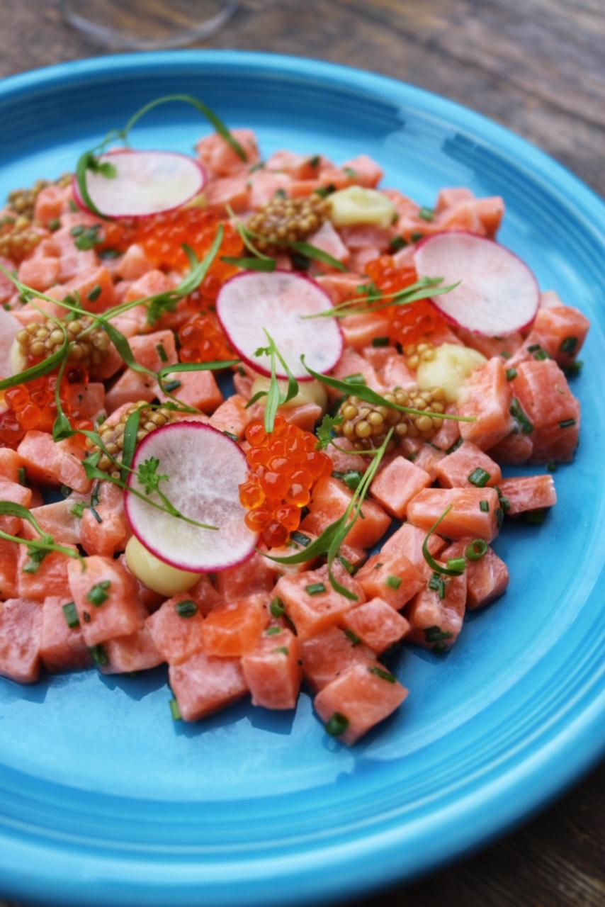 Gelso & Grand Salmon Tartare